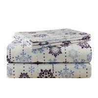 Pointehaven Snow Drop Snow Drop 100pct Cotton Sheet Set