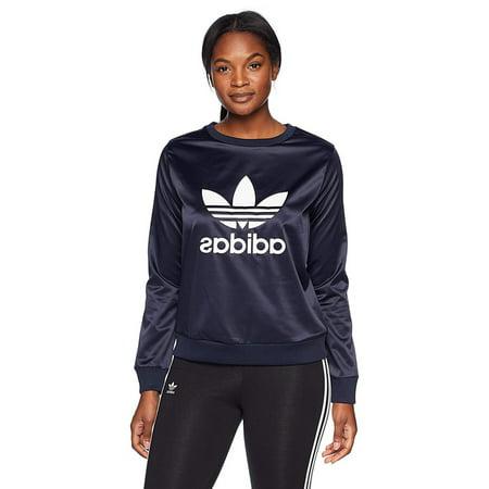 Adidas Originals Trefoil Crew Women's Sweat Shirt, Legend Ink, Medium Adidas Originals Top
