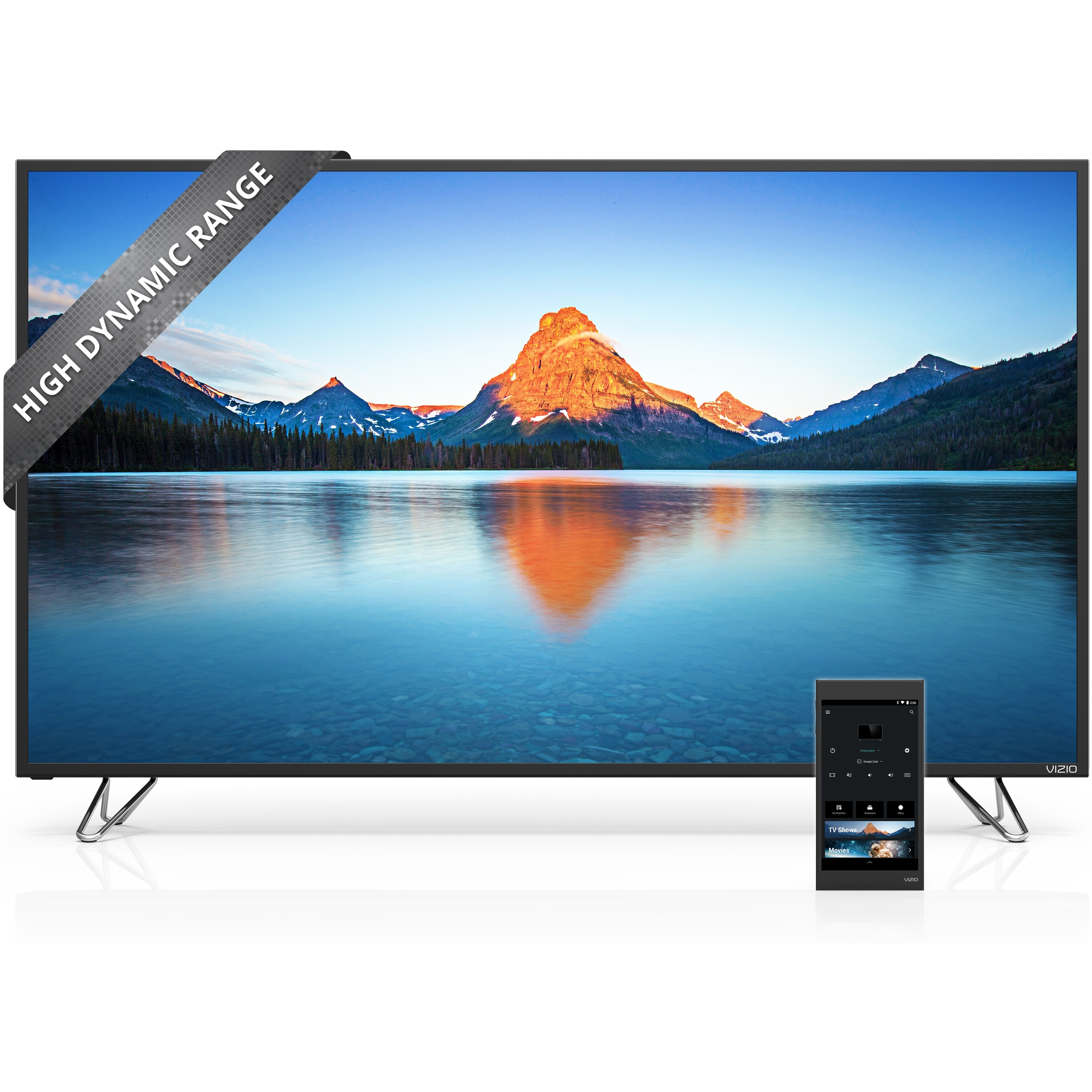 VIZIO M65-D0 65-inch 4K Ultra HD LED Smart TV - 3840 x 2160