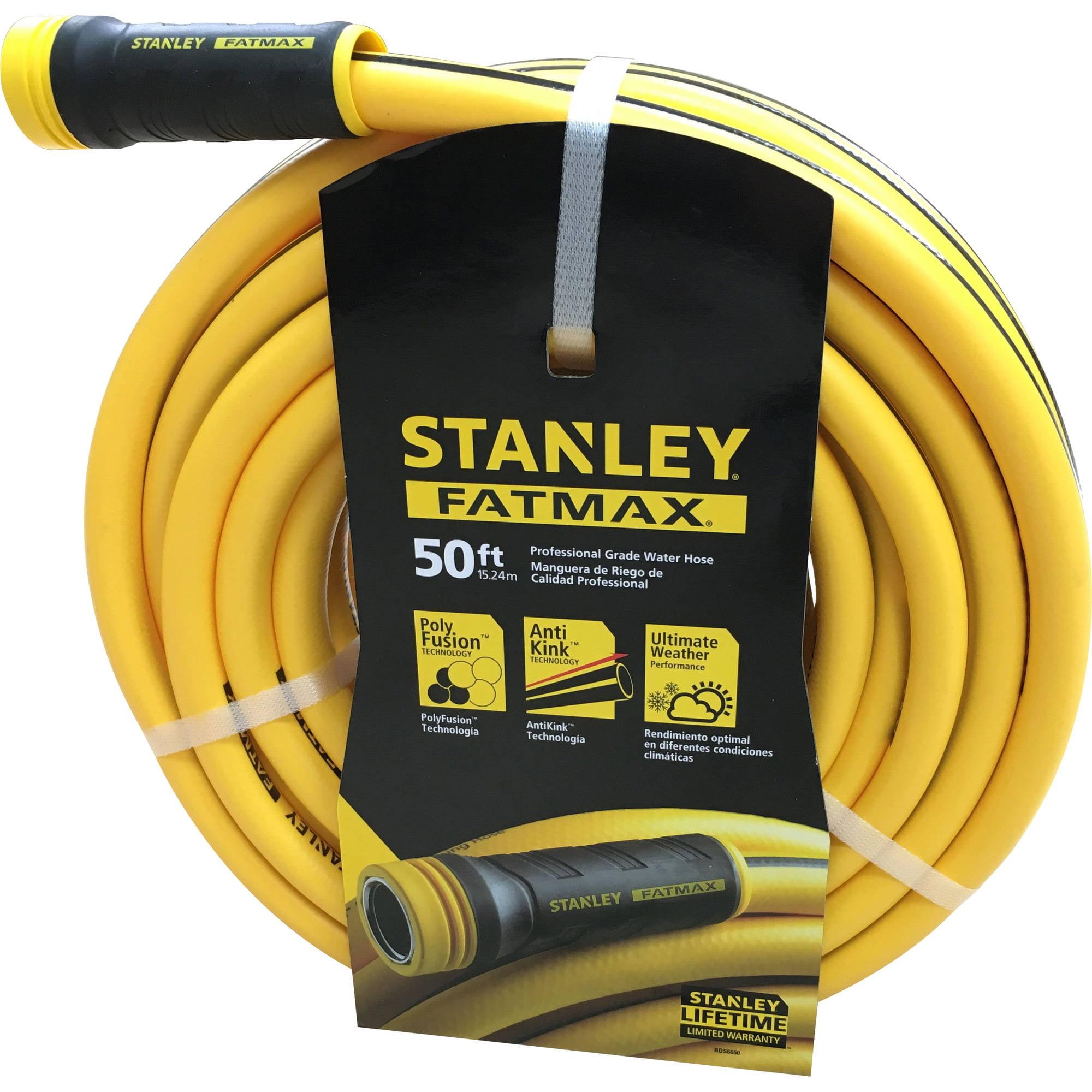 """Stanley 50' x 5 8"""" FATMAX Garden Hose by Bond Manufacturing"""