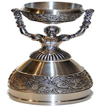 Pewter Christening Cup - Nuremberg Bridal Cup (aka.. Nuremberg Wedding Cup) Full Pewter