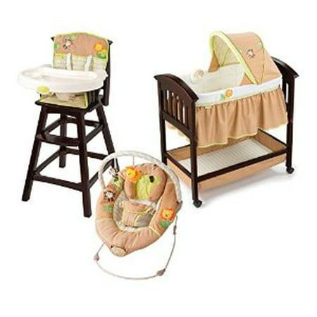 Summer Infant Swingin Safari Classic Comfort Wood High
