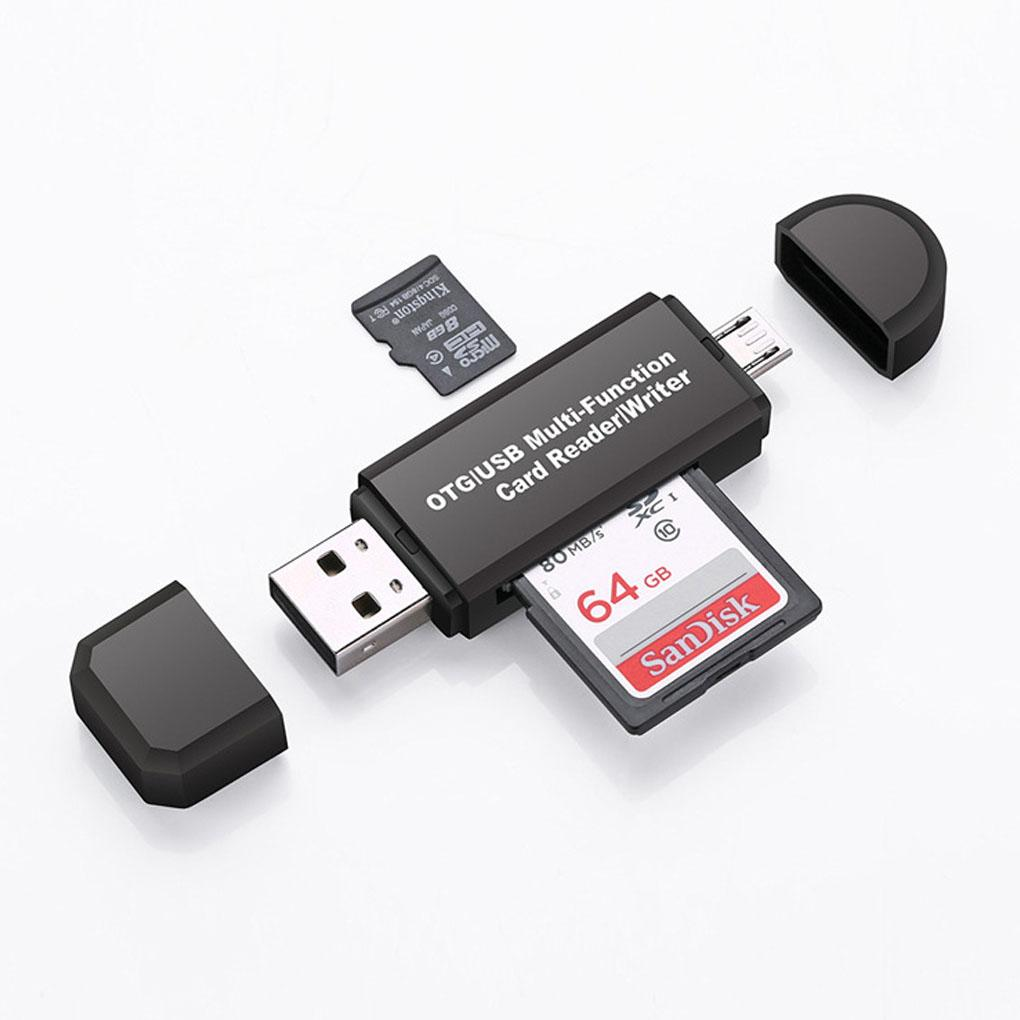 Memory Card Reader High-speed TF Micro SD Card for Android Phone Computer Extension Headers