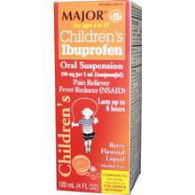 Children`s Ibuprofen Suspension, 100mg/5mL, Berry, 4oz