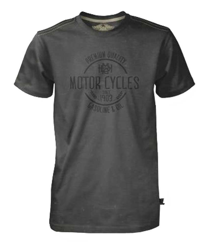 Harley-Davidson Men's Black Label T-Shirt, Gas & Oil MC Tee, Black 30293552 by Bravado
