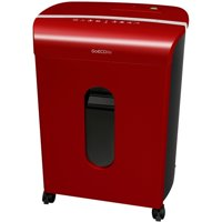 GoECOlife - GoEcoLife Limited Edition 12-Sheet Microcut CD/Paper Shredder - Red