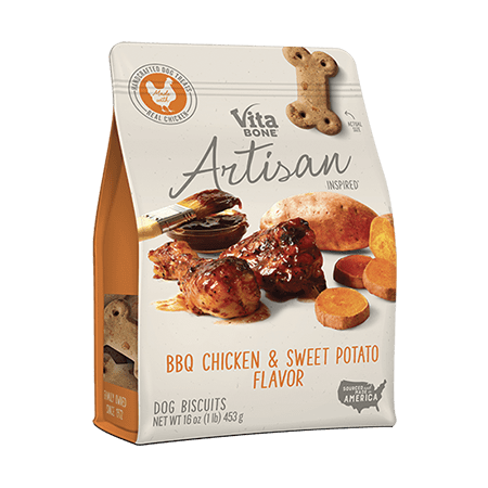 Vita Bone Artisan Inspired BBQ Chicken & Sweet Potato Flavor (Best Ever Bbq Chicken)
