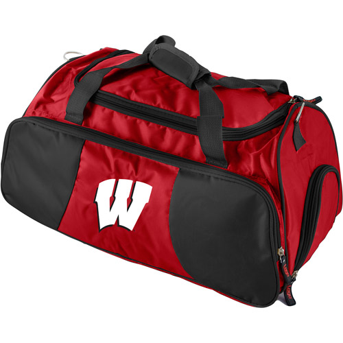 Logo Chair NCAA Wisconsin Athletic Duffel