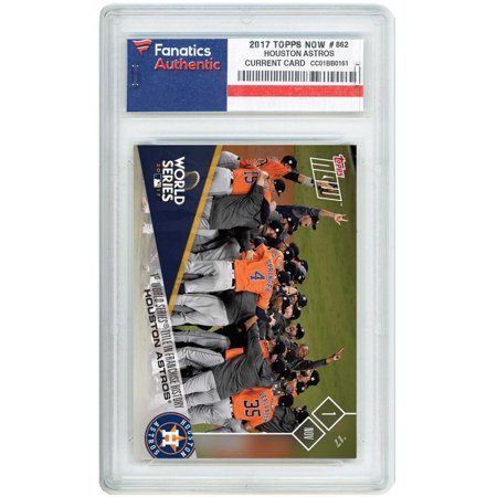 Astro Collection - Houston Astros World Series Champs 2017 Topps Now #862 Card