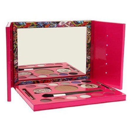 Christian Audigier Ed Hardy Color Love Kills Slowly for Women Makeup Set, 19 pc