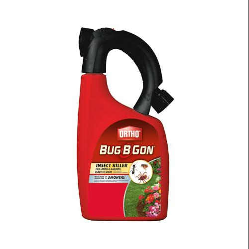 Ortho Bug B Gon Insect Killer for Lawns & Gardens Ready-To-Spray, 32 oz