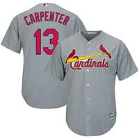 Matt Carpenter St. Louis Cardinals Majestic Official Cool Base Player Jersey - Gray