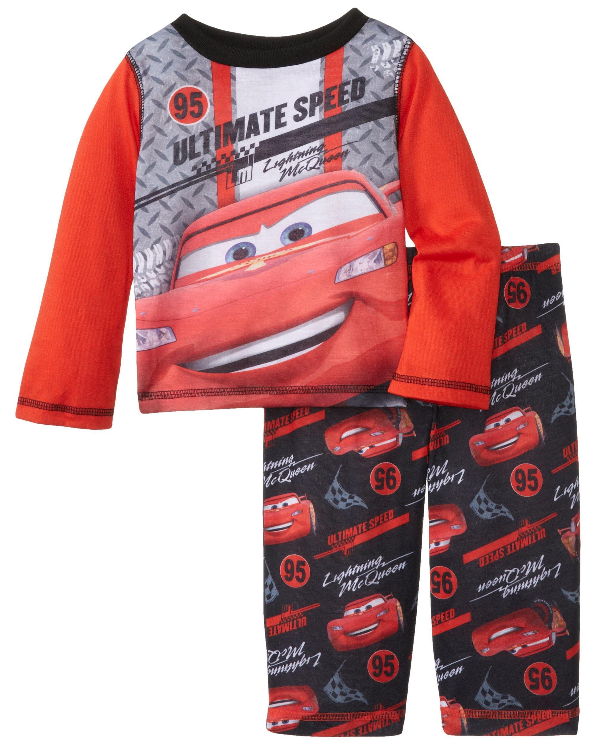 Disney Boys' Cars Poly 2 Piece Pajama Set
