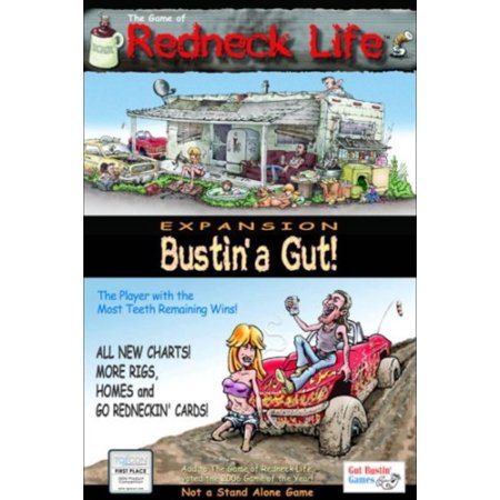 Redneck Life Expansion: Bustin' a Gut! Set, An expansion to the original game, Redneck Life By Gut Bustin Games (Young Life Halloween Games)