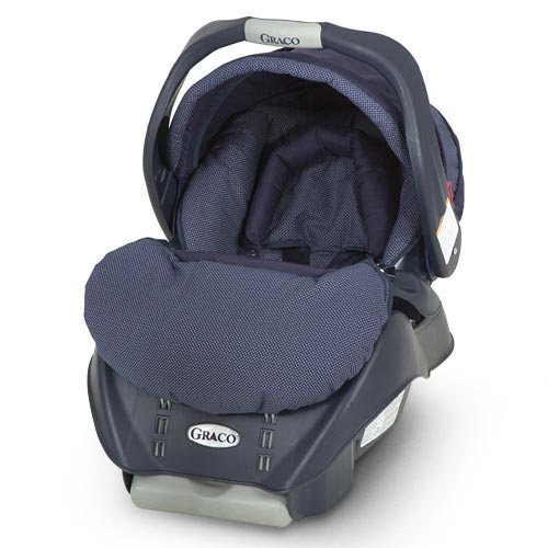 Graco SnugRide LX5 Infant Car Seat, Navy Diamond