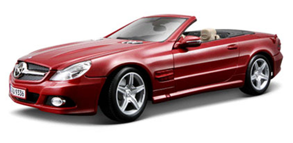Mercedes-Benz SL550 Convertible, Red Maisto 31169 1 18 Scale Diecast Model Toy Car by Maisto