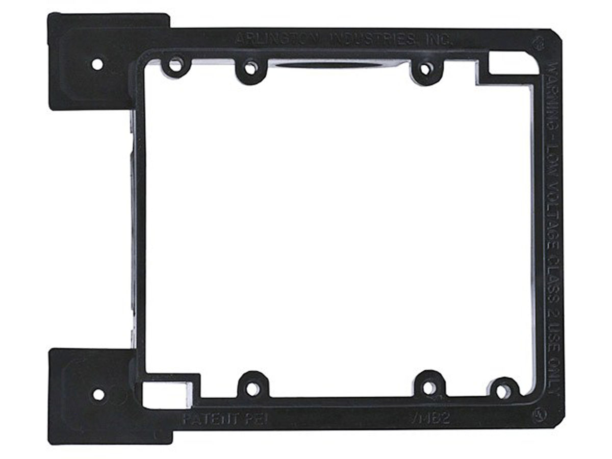 Monoprice 3-Gang Low Voltage Mounting BracketUL and CSA Listed
