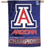 "Arizona Wildcats WinCraft 2018 Pac-12 Men's Basketball Conference Tournament Champions 28"" x 40"" Vertical Banner"