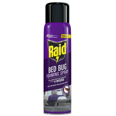 Raid Bed Bug Foaming Spray, 16.5 oz