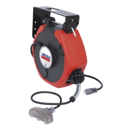 Lincoln Industrial 91029 Plastic Reel, Cord, 50', T-Tap, Clear Lighted