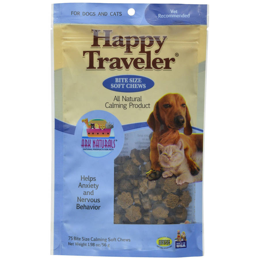 Ark Naturals Happy Traveler, Bite Size Soft Chews, 1.98 oz