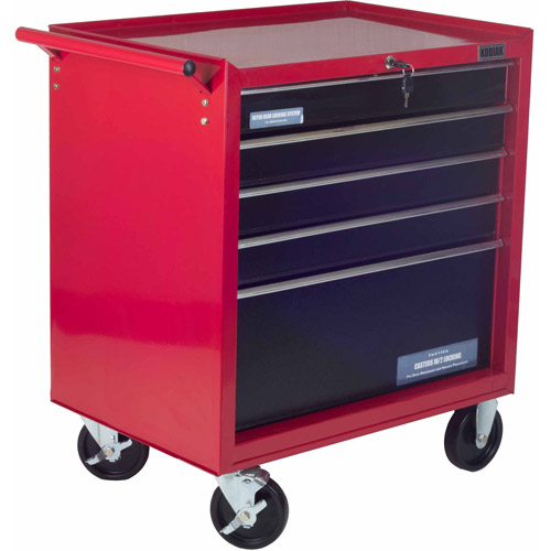 "Kodiak 26"" 5-Drawer Rolling Tool Cabinet"