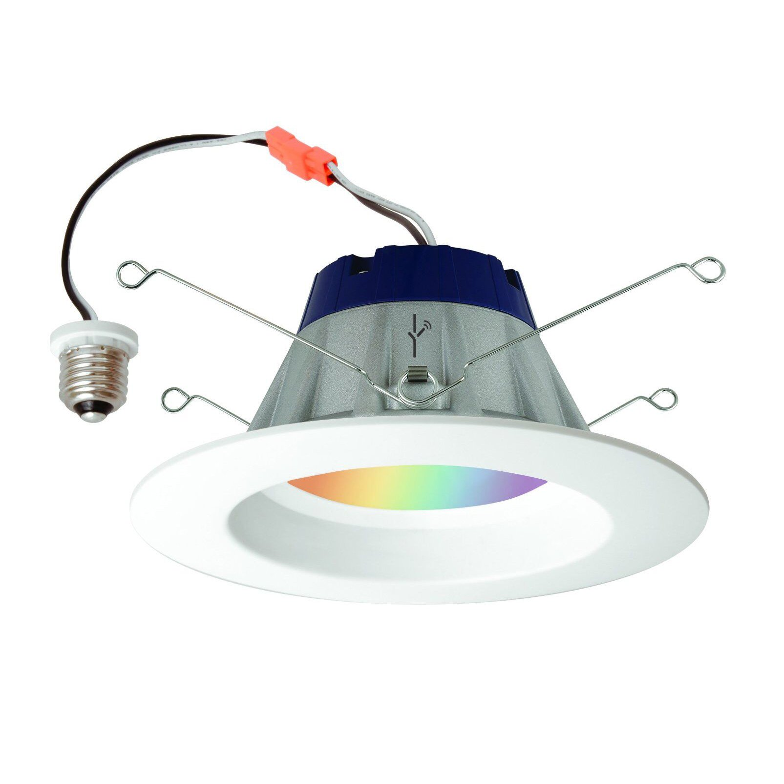 Sylvania Lightify 65W LED Smart Home 2700-6500K Color/White Light Bulb (10 Pack) - image 5 de 7