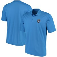 San Jose Earthquakes Antigua Pique Desert Dry Xtra-Lite Polo - Blue