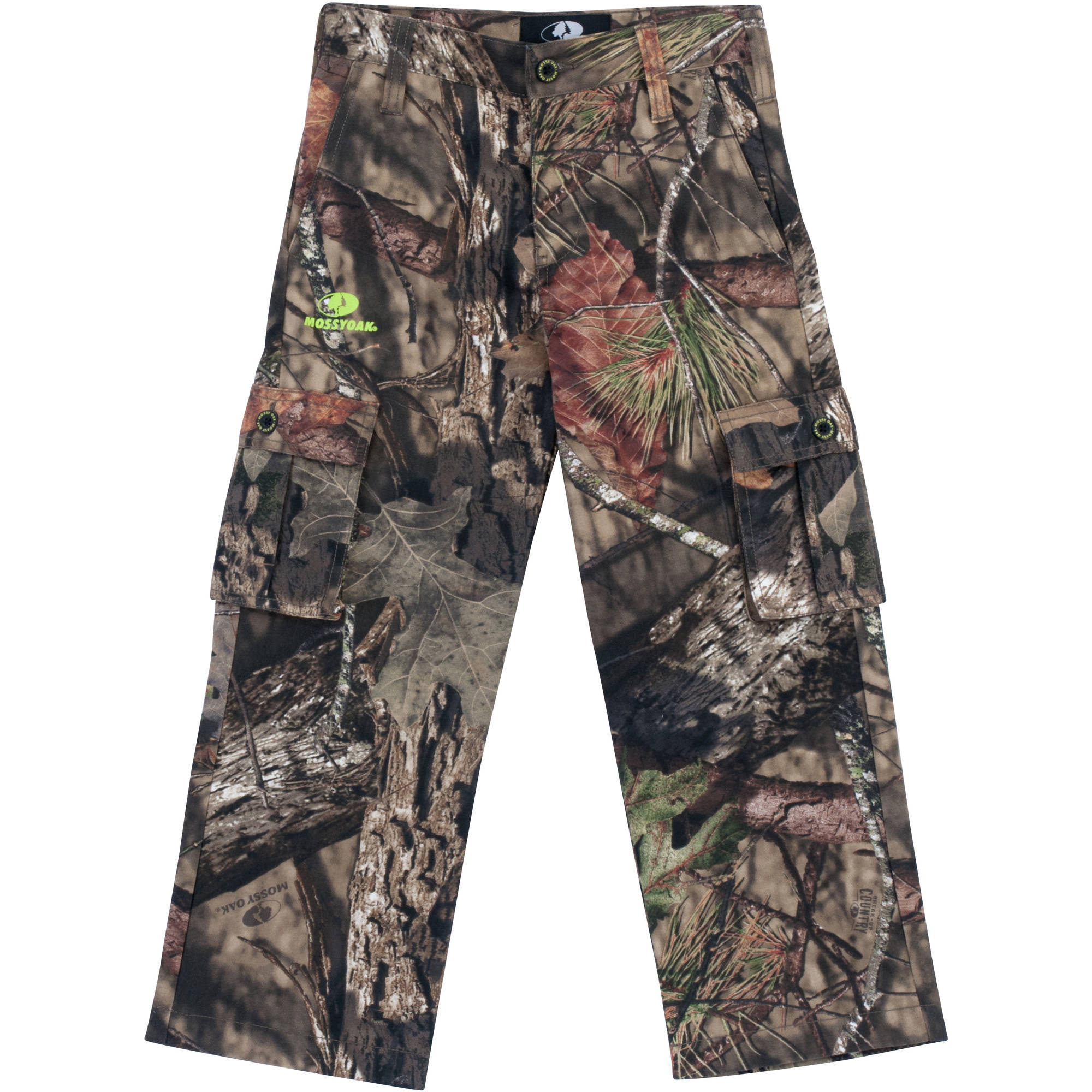 Youth Cargo Pants, Available in Realtree and Mossy Oak