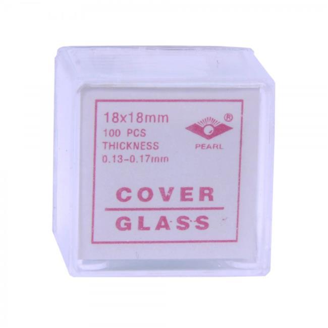 American Educational 7-1305-20 Microscope Cover Slips, Glass