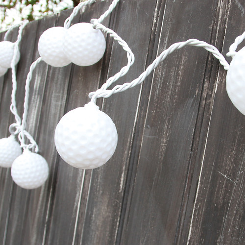 Golf Ball String Lights