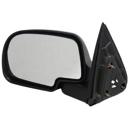 NEW LH DOOR MIRROR FITS CHEVY 00-06 SUBURBAN 1500 2500 02-06 TAHOE MANUAL 25876714 GM1320230 955-068 15106007 25876714 62030G GM59L