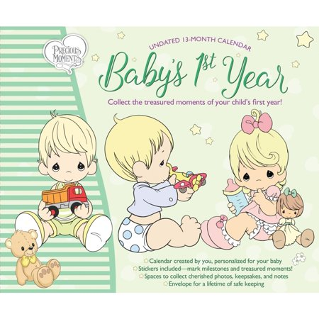 Babys 1st Yr Precious Moments Wall Calendar, by Calendar Ink A Babys First Year Calendar