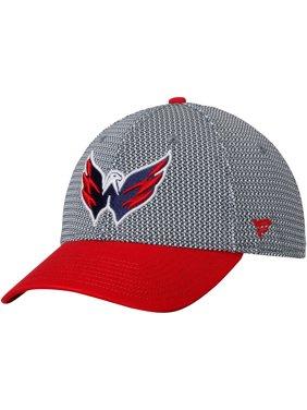 Product Image Washington Capitals Fanatics Branded Breakaway Flex Hat - Gray  Red 7b71b8310efb