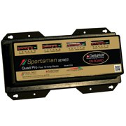 Duel Pro Sportsmans Series 4Bank Charger 10Amp/Bank SS4