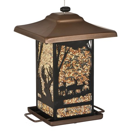 8504 2 Wilderness Lantern Wild Bird Feeder 3 5 Lbs   From Us