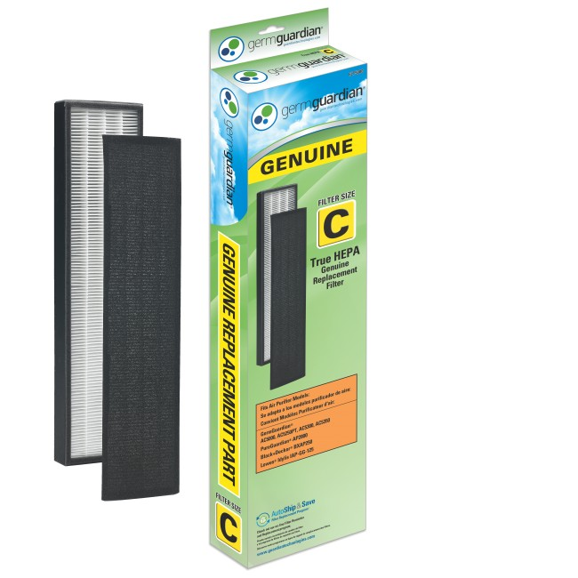 GermGuardian FLT5000 True HEPA Replacement Filter for AC5000 Air Purifiers