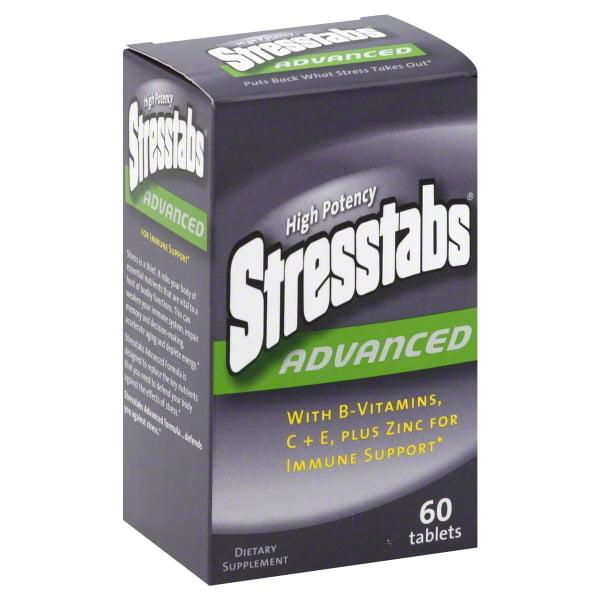 Stresstabs High-Potency Advanced With Zinc & Ester-C, 60ct