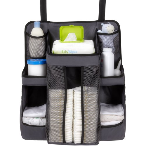 DEX Products Nursery Organizer, Gray