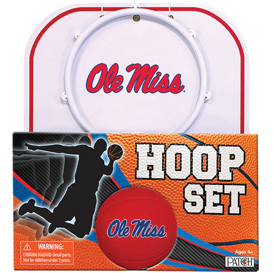 Officially Licensed NCAA Mississippi Hoop Set