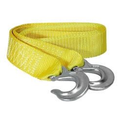 Tow Strap With Forged Hooks 2in. x 10ft. - 7,000lb