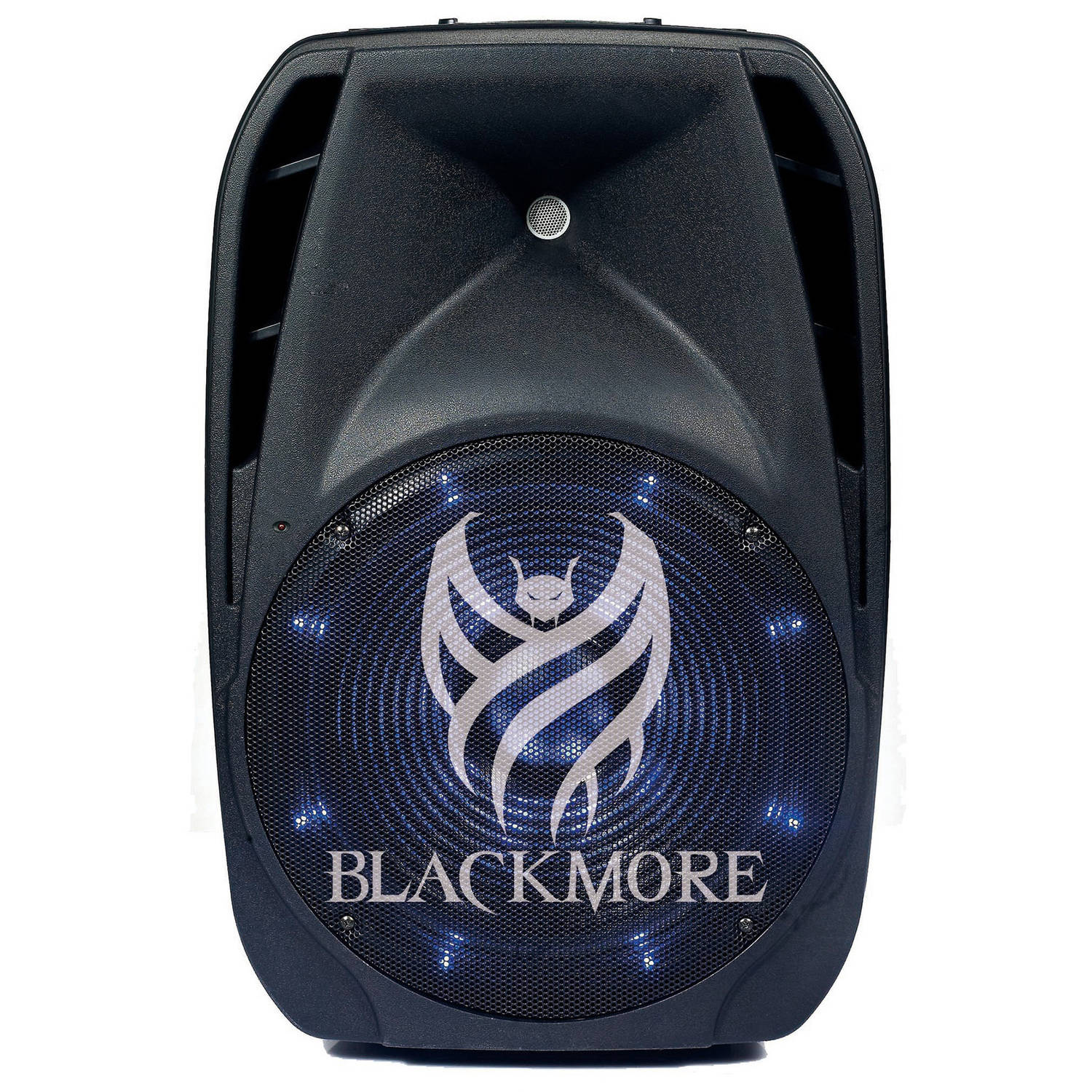 Blackmore Electronics BJS-152BT Blackmore Amplified DJ Speaker System, Black