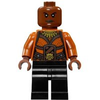 LEGO Marvel Black Panther Movie Okoye Minifigure [No Packaging]
