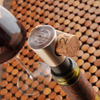 Jds Marketing Personalized Buono Vino Engraved Wine Stopper