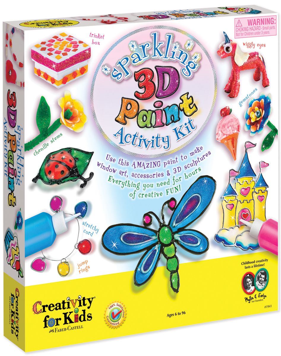 Sparkling 3D Paint Kit-