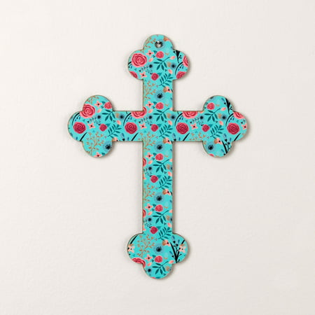God Notes Field of Flowers Wall - God Wall Cross