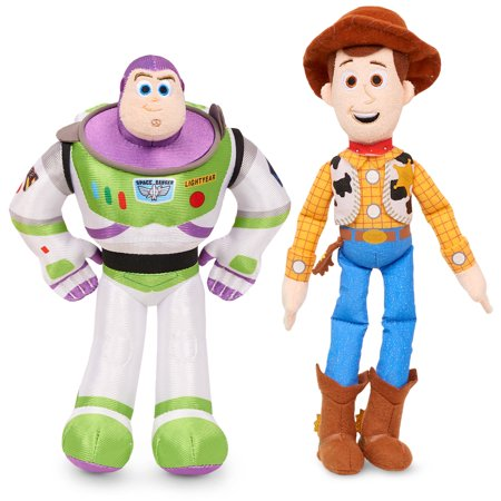 Toy Story 4 Bean Plush - 2 Pack Bundle Buzz And Woody (Lotso Bear Toy Story 3)