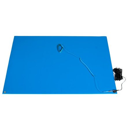 Bertech General Purpose ESD Mat Kit with a Wrist Strap and a Grounding Cord, 2