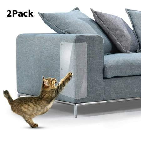 Peroptimist 2 Pcs Cat Scratch Protector, Transparent Cat Scratch Guards, Protecting Furniture from Cat Scratching Stops Scratching Cats Furniture