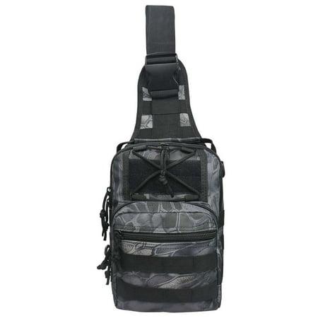 Gonex Men Military Messenger Shoulder Bag Sling Travel Tactical Backpack Chest Bag - Tactical Shoulder Bag
